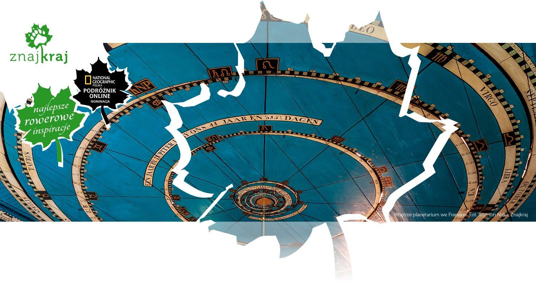 Wnętrze planetarium we Franeker