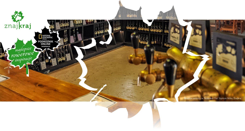 Wnętrze winnicy w Pedersker