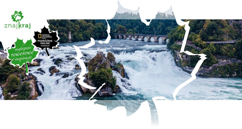 Wodospad na Renie w Szwajcarii