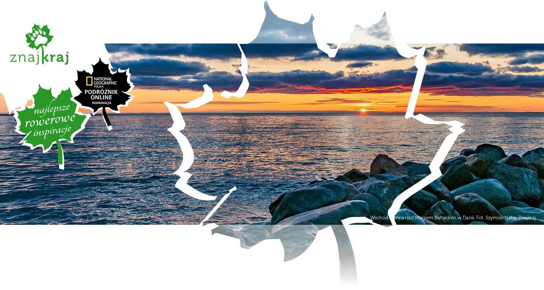 Wschód Słońca nad Morzem Bałtyckim w Danii