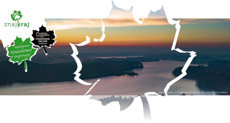Wschód Słońca nad Pojezierzem Brodnickim