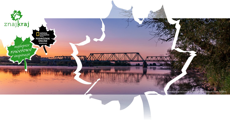 Wschód Słońca przy moście w Siekierkach