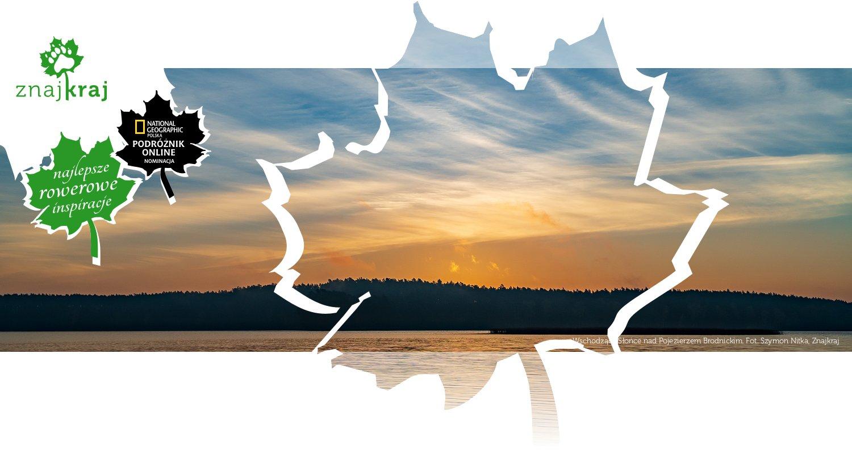 Wschodzące Słońce nad Pojezierzem Brodnickim