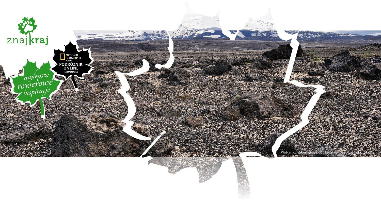 Wulkaniczny krajobraz pod Heklą