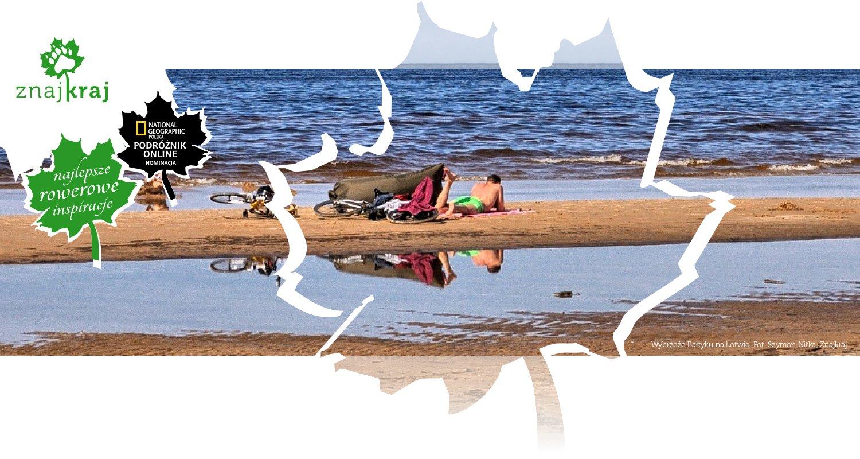 Wybrzeże Bałtyku na Łotwie