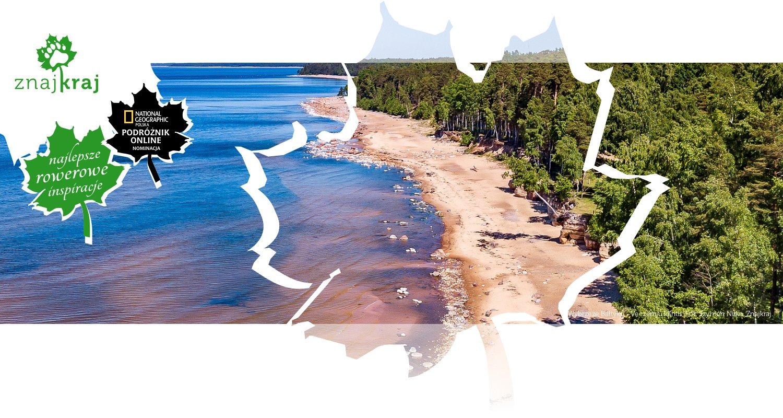 Wybrzeże Bałtyku - Veczemju klintis