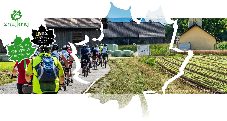 Wycieczka rowerowa na trasie rowerowej Drawy