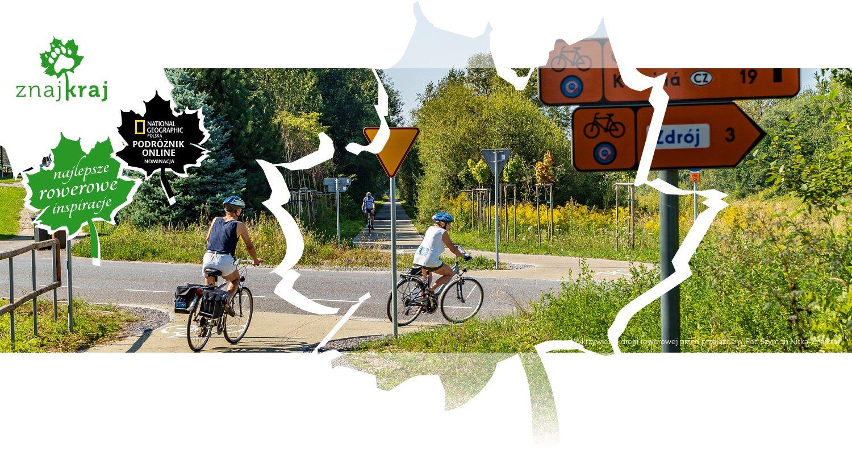 Wykrzywienie drogi rowerowej przed przejazdem