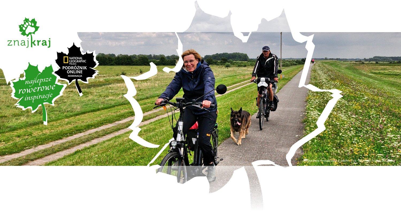 Wyprawa rowerowa z psem