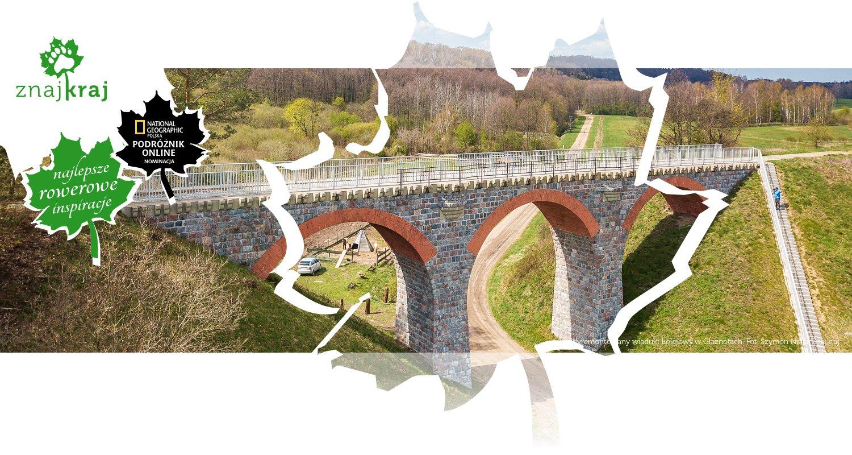 Wyremontowany wiadukt kolejowy w Glaznotach