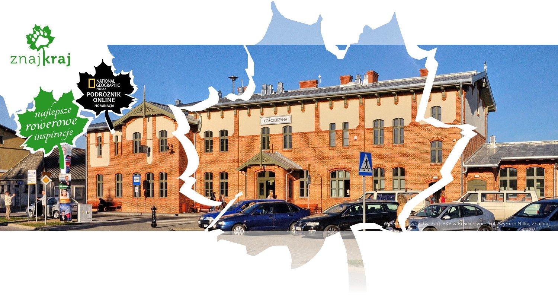 Wyremontowny dworzec PKP w Kościerzynie
