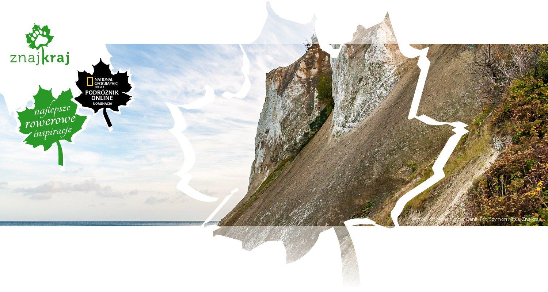 Wysoki klif Møns Klint w Danii