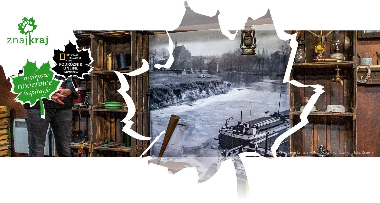 Wystawa na barce Lemara w Bydgoszczy