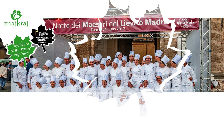 Wystawcy podczas Festiwalu Ciasta Drożdżowego w Parmie