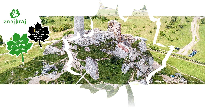 Wzgórze zamkowe w Olsztynie koło Częstochowy