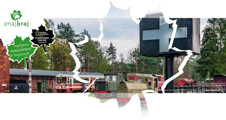 Zabytkowa stacja wąskotorówki w Rudach