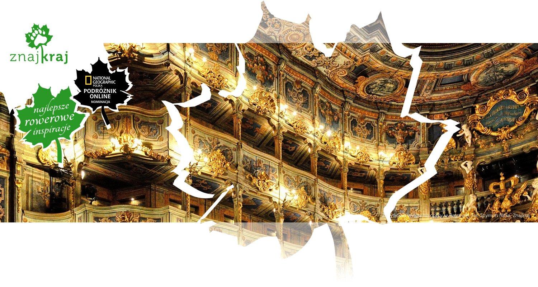 Zabytkowa widownia opery w Bayreuth