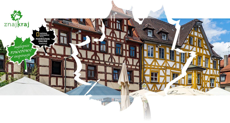 Zabytkowa zabudowa rynku w Fürth we Frankonii