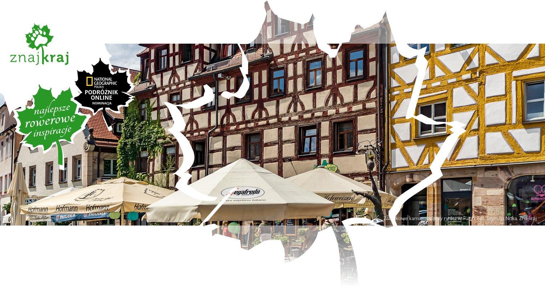 Zabytkowe kamienice przy rynku w Fürth