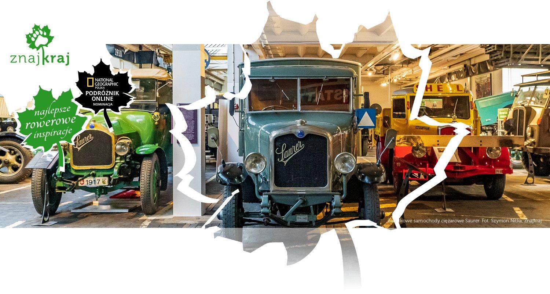 Zabytkowe samochody ciężarowe Saurer