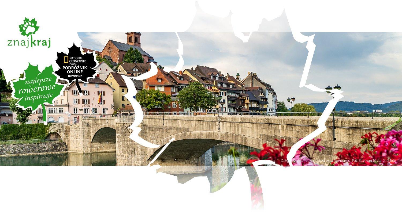 Zabytkowy kamienny most w Laufenburgu