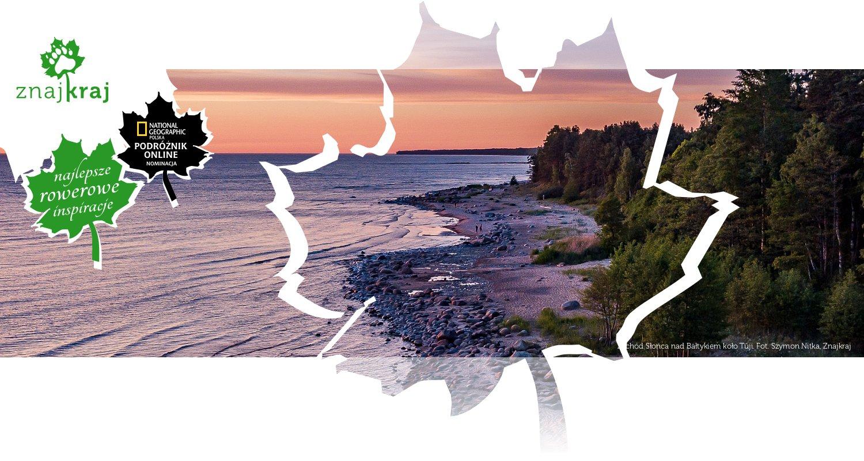 Zachód Słońca nad Bałtykiem koło Tūji