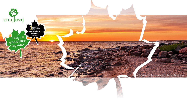 Zachód Słońca nad Bałtykiem na Łotwie