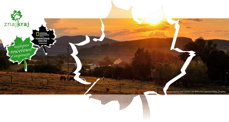 Zachód Słońca nad Górami Izerskimi