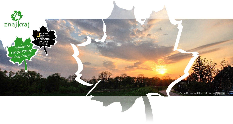 Zachód Słońca nad Odrą