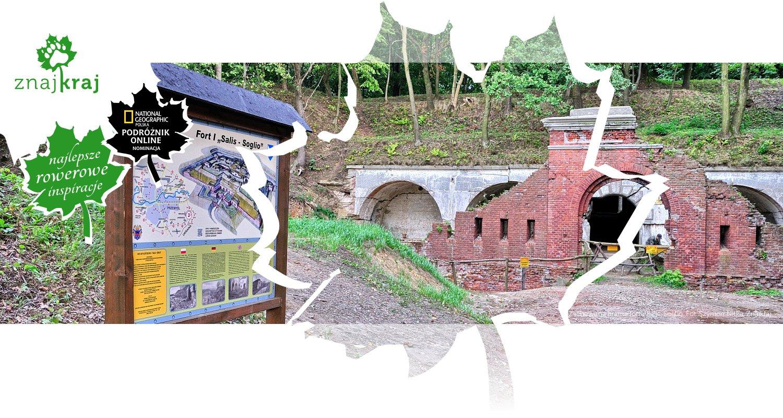 Zachowana brama fortu Salis-Soglio