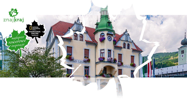 Zachowany ratusz w Lienzu