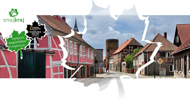 Zachowany układ urbanistyczny Lenzen