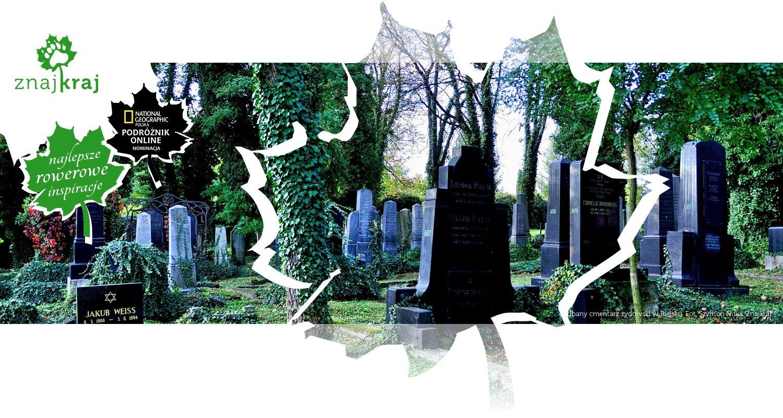 Zadbany cmentarz żydowski w Bielsku
