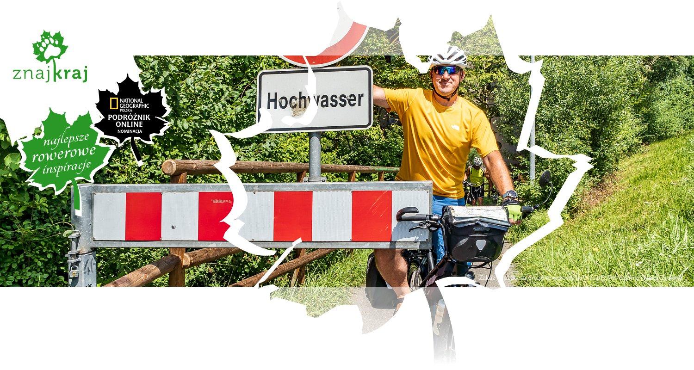 Zakaz wjazdu na drogę rowerową koło Fürth