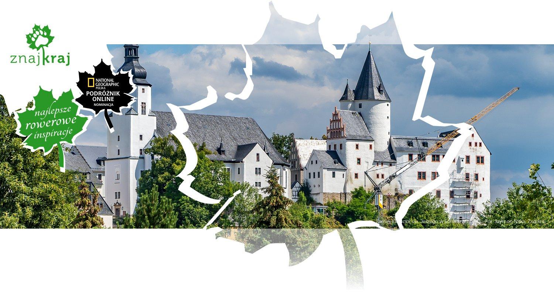 Zamek i kościół św. Jerzego w Schwarzenbergu