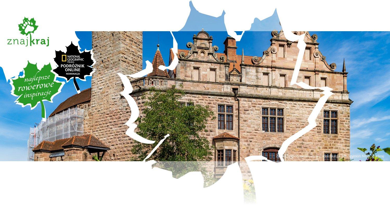 Zamek i ogród zamkowy w Cadolzburgu