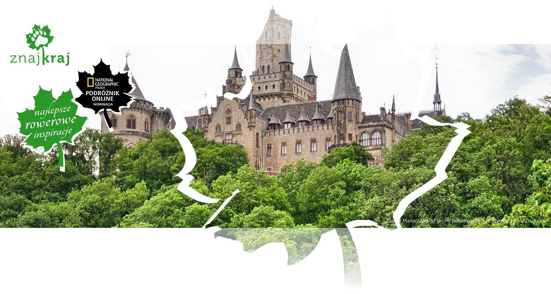 Zamek Marienburg od strony południowej