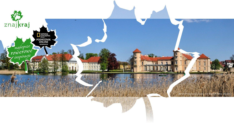 Zamek Rheinsberg z daleka