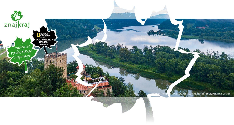Zamek Tropsztyn nad wodami Jeziora Czchowskiego