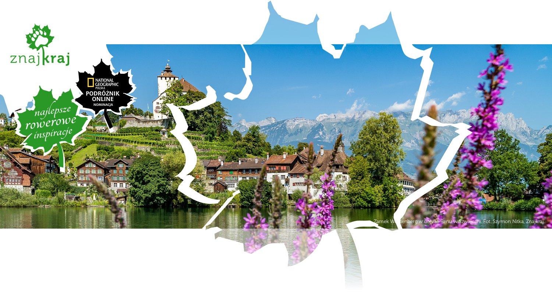 Zamek Werdenberg w dolinie Renu w Szwajcarii