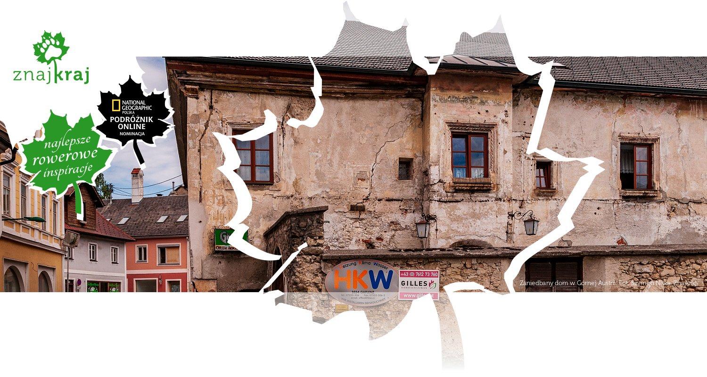 Zaniedbany dom w Górnej Austrii