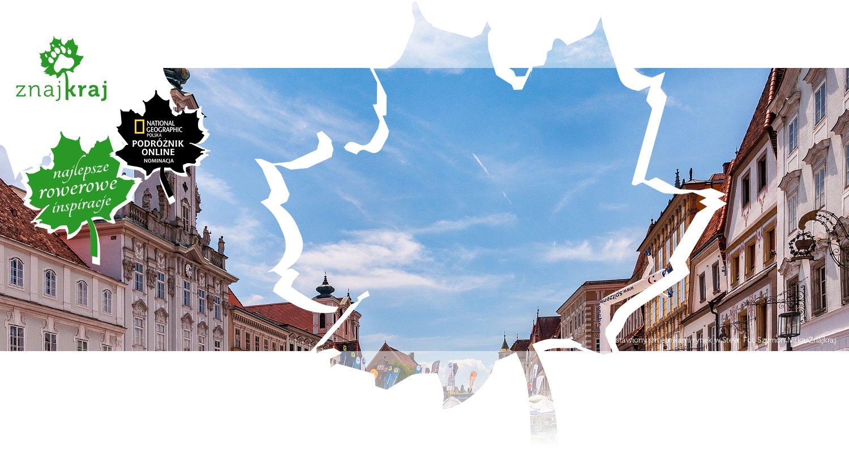 Zastawiony śmietnikami rynek w Steyr