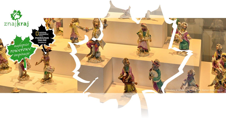 Zbiory porcelany w ratuszu w Bambergu
