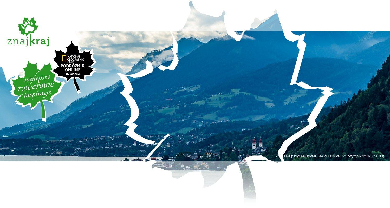 Zbocza Alp nad Millstätter See w Karyntii