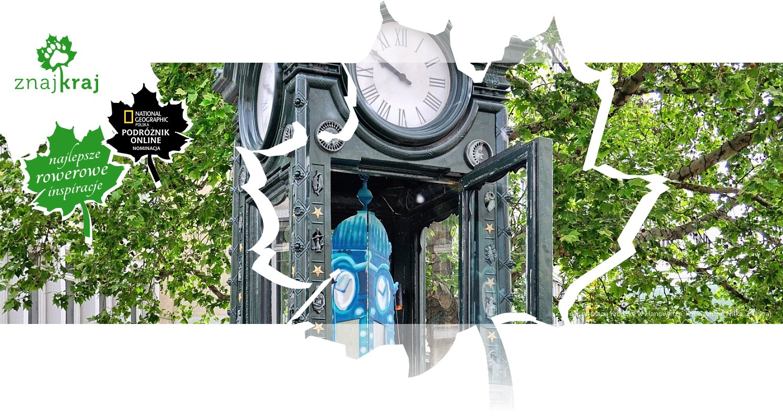 Zegar na placu Kröpcke w Hanowerze
