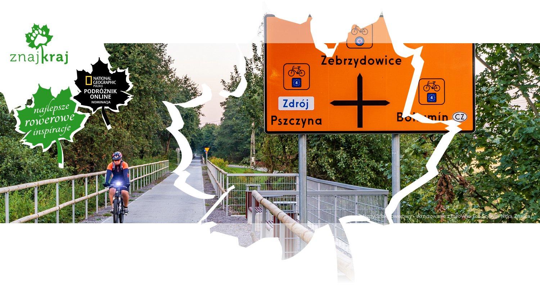 Żelazny Szlak Rowerowy - skrzyżowanie z EuroVelo
