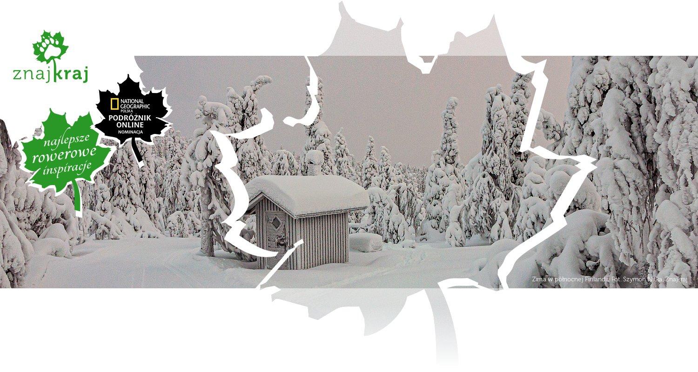 Zima w północnej Finlandii