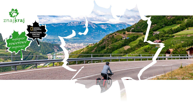 Zjazd do Bolzano w Dolomitach