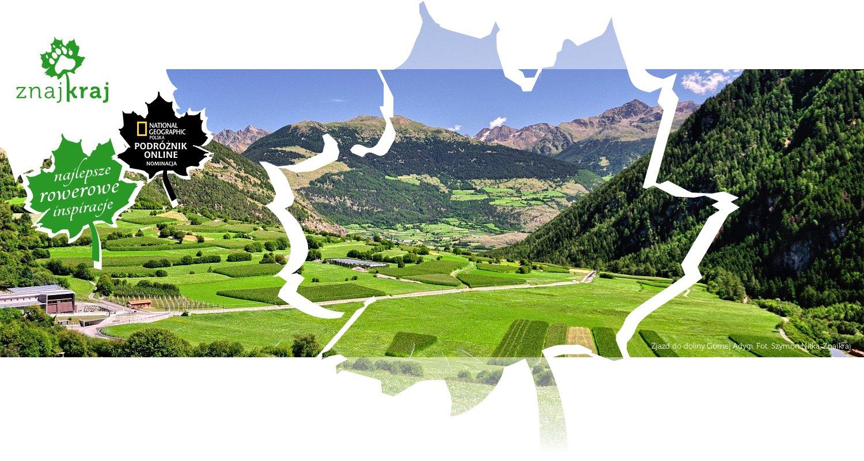Zjazd do doliny Górnej Adygi