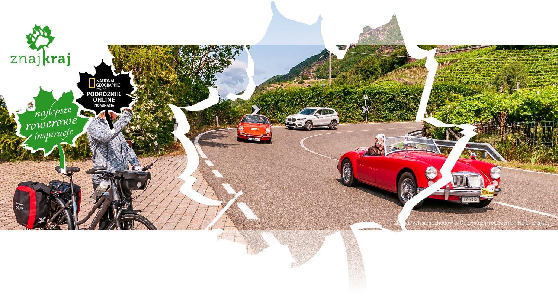 Zlot starych samochodów w Dolomitach